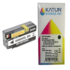 HP 954 XL BLACK   Tintas Alternativas KATUN BUSINESS REMANUFACTURADO