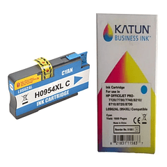 HP 954 XL CYAN   Tintas Alternativas KATUN BUSINESS REMANUFACTURADO