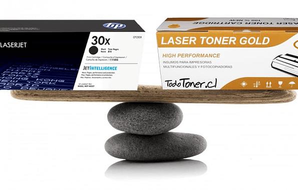 Diferencia entre un Cartucho de Toner Alternativo y Toner Original para usar en su Impresora