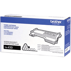 BROTHER TN-450 Alto Rendimiento | Toner Original
