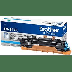 BROTHER TN-217 CYAN | Alto Rendimiento | Toner Original