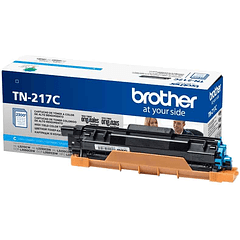 BROTHER TN-217 CYAN | Alto Rendimiento | Toner Original