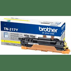 BROTHER TN-217 YELLOW | Alto Rendimiento | Toner Original