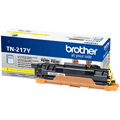 BROTHER TN-217 YELLOW | Alto Rendimiento | Toner Original