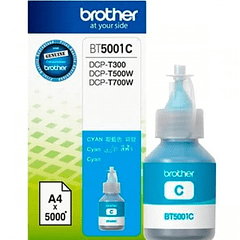 BROTHER BT-5001 CYAN | Tinta Original