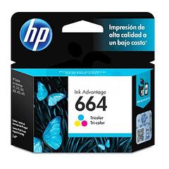 HP 664 Tricolor | Tinta Original
