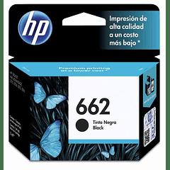 HP 662 BLACK | Tinta Original