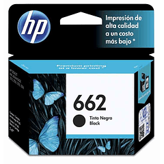 HP 662 BLACK | Tinta Original
