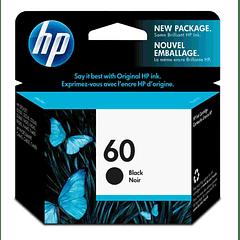 HP 60 BLACK | Tinta Original
