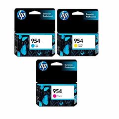 HP 954 PACK DE 3 COLORES | Tinta Original