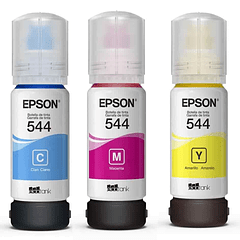 EPSON 544 | PACK COLORES | CYAN MAGENTA YELLOW | Tinta Original