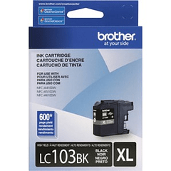 BROTHER LC-103BK XL BLACK | Tinta Original