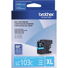 BROTHER LC-103C XL CYAN | Tinta Original
