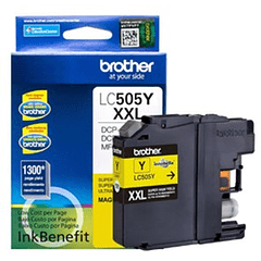 BROTHER LC-505Y XXL YELLOW | Tinta Original