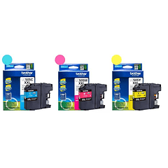 BROTHER LC-505 XXL PACK DE 3 COLORES | Tinta Original