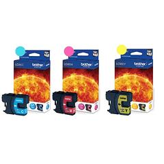 BROTHER LC-980 PACK DE 3 COLORES | Tinta Original