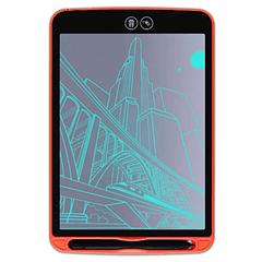 PIZARRA LCD 8,5 pulgadas | Rojo | Con borrado parcial