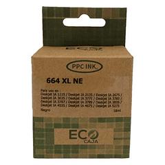 HP 664XL BLACK | Alto Rendimiento | Tinta Alternativa | EcoCaja