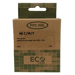 HP 46 Tricolor | Tinta Alternativa | EcoCaja