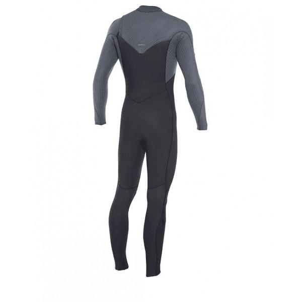 TRAJE SURF HYPERFREAK 4/3 MM CHEST ZIP BLACK/GRAPHITE ONEILL COD.10872