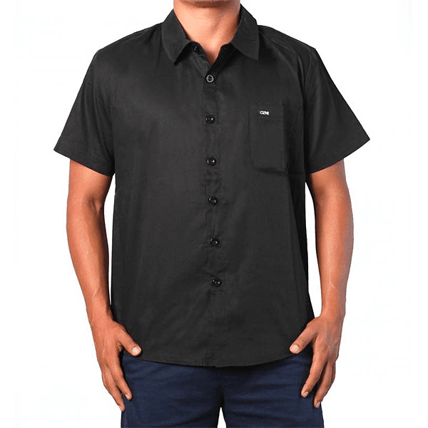 CAMISA ALL BLACK OZNE COD.10417