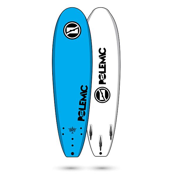 TABLA SURF SOFTBOARD 8 PIES POLEMIC COD.10869