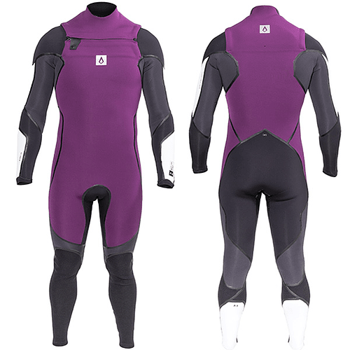 TRAJE SURF A3 ONE CHEST ZIP 4/3MM AGENT 18