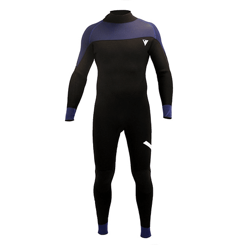 TRAJE SURF VE WETSUITS BTS BLACK / BLUE 4/3MM COD.2021