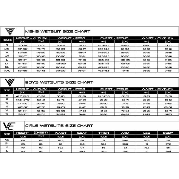 TRAJE SURF VE WETSUITS BTS BLACK / TWILIGHT 4/3MM