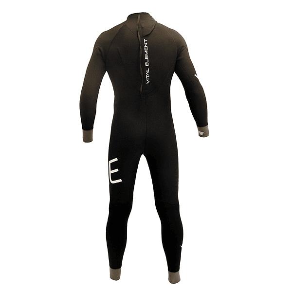 TRAJE SURF VE WETSUITS BTS BLACK / GREY 4/3MM