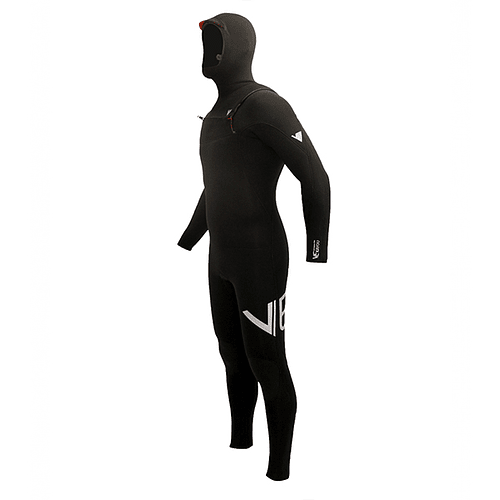 TRAJE SURF VE WETSUITS KAIYOU PRO HOODED 4/3MM
