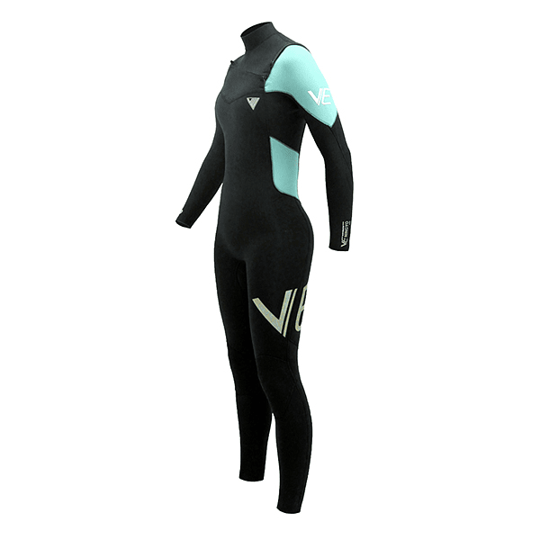 TRAJE SURF VE WETSUITS NINGYO PRO GBS 4/3MM CHEST ZIP FULL TAPED INSIDE