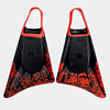 ALETA STEALTH S1 SUPREME - BLACK / FLURO RED COD.4691