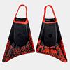 ALETA STEALTH S1 SUPREME - BLACK / FLUOR RED COD.4691