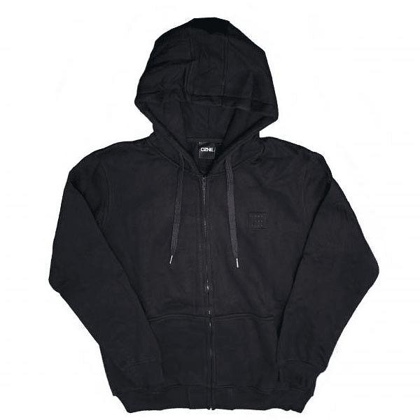 POLERON ZIP ALL BLACK OZNE COD.10180