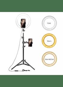 Aro Luz LED 1,70cm Selfie Incluye Tripode