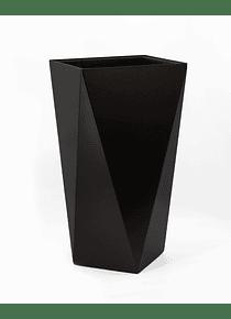 MACETERO ECLÉCTICO Negro AUTORREGABLE TOMOMI 61cms (M)