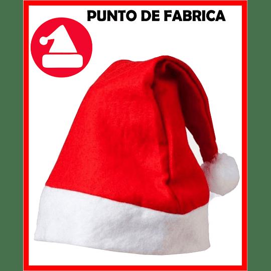 Gorros de Navidad Rojos Económicos $ 3.500 - Image 1