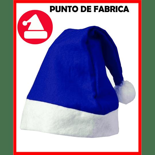 Gorros de Navidad Azules Económicos $ 3.500
