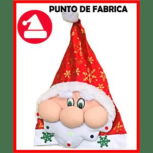 Gorros de Navidad Peluche Corto Papa Noel $ 7.000