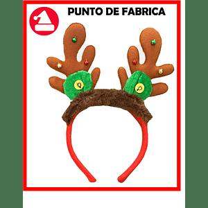 Diadema navideña Reno Con Luces $ 6.500