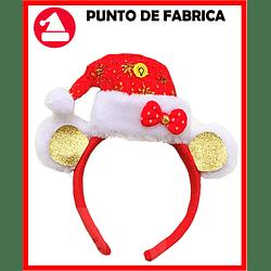 Diadema navideña Gorrito Con Luces $ 6.500