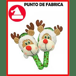 Maracas de Navidad Reno Verde Pequeña $ 5.000