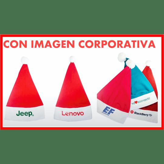 Gorros de Navidad Marcados con Logo $1.200 un color - Image 2