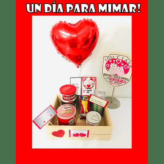 Regalo Sorpresa a mimar en San Valentín
