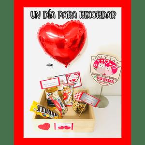 Regalo Sorpresa Recordándote en San Valentín