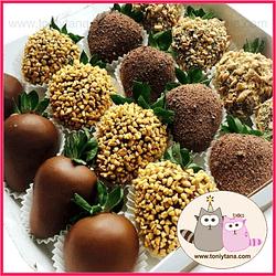 Fresas con Chocolate Para Hombre- Pedido 2 días antes - DISPONIBLE SOLO CALI