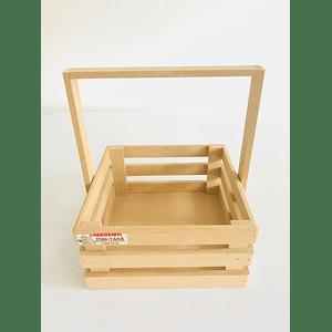 Caja de Madera MDF  Tipo Agarradera-Se venden mínimo 6 Unidades