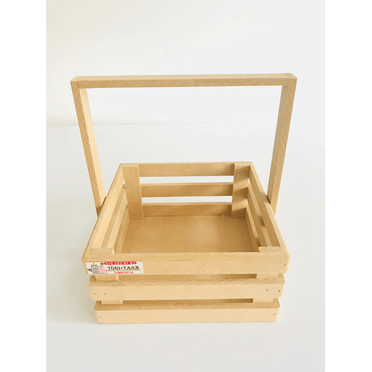 Caja de Madera MDF  Tipo Agarradera-Se venden mínimo 6 Unidades - Image 1
