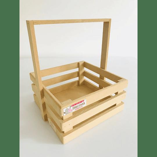 Caja de Madera MDF  Tipo Agarradera-mínimo 100 Unidades 25x25, x30 alto - Image 2